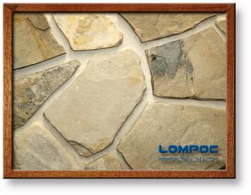 Click for a Large Photo of Lompoc Petite Mosaic Oatmeal Thin Veneer